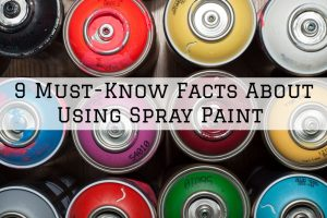 Using spray paint