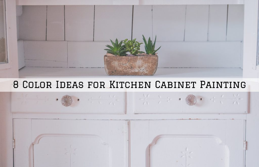 8 Color Ideas for Kitchen Cabinet Painting in Westlake, TX