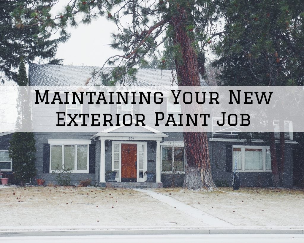 Maintaining Your New Exterior Paint Job in Clarksville, TX