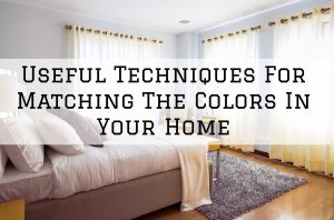 Matching Colors in your Home