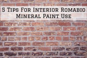 2020-10-23 Brush And Color Eco Painting Austin TX Tips Interior Romabio Mineral